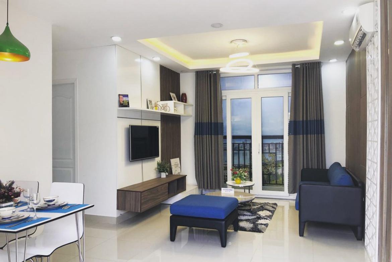 Nhà mẫu dự án căn hộ chung cư Viva Plaza đường Nguyễn Lương Bằng quận 7
