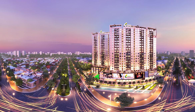 Phối cảnh dự án căn hộ chung cư High Intela đường Võ Văn Kiệt Quận 8