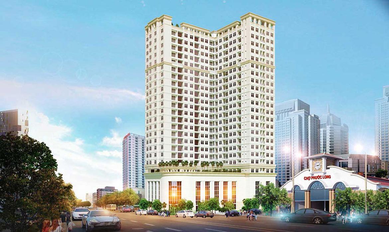 Phối cảnh dự án căn hộ chung cư Viva Plaza đường Nguyễn Lương Bằng quận 7