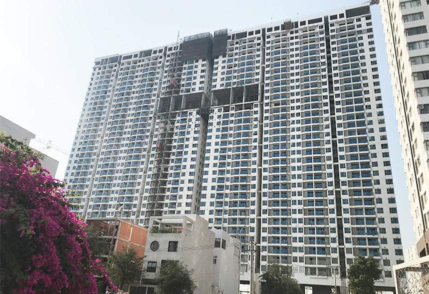 Tiến độ dự án căn hộ chung cư River Panorama Quận 7 chủ đầu tư An Gia tháng 3.2020