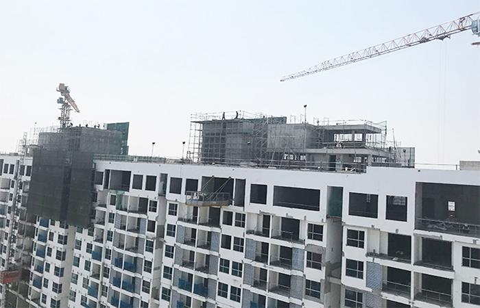 Tiến độ xây dựng dự án căn hộ River Panorama Quận 7 tháng 03.2020
