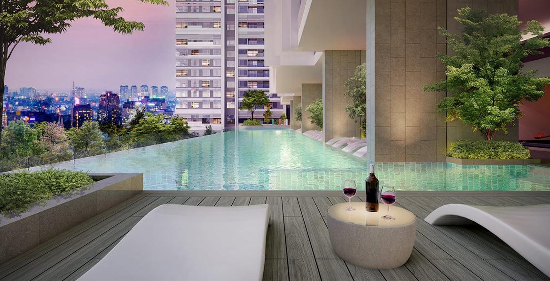 Tiện ích dự án căn hộ chung cư Kingdom 101 Quận 10 Đường Tô Hiến Thành chủ đầu tư Hoa Lâm