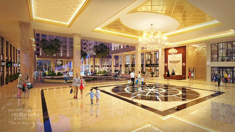 Tiện ích dự án căn hộ chung cư Dream Home Riverside Quận 8 Đường Nguyễn Văn Linh