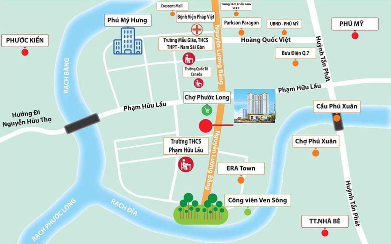 Mua bán cho thuê dự án căn hộ chung cư Viva Plaza đường Nguyễn Lương Bằng quận 7
