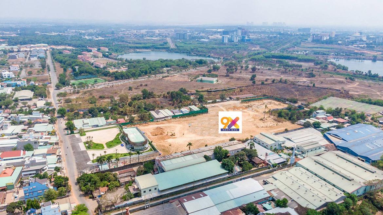 Vị trí địa chỉ dự án căn hộ chung cư 9x Next Gen Dĩ An Bình Dương Đường Đường Thống Nhất chủ đầu tư Hưng Thịnh