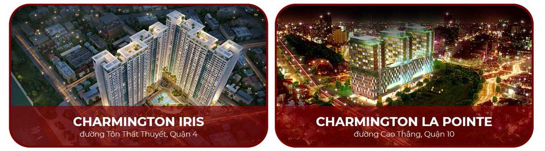 Chủ đầu tư dự án căn hộ chung cư Charmington Iris Quận 4 Đường Tôn Thất Thuyết