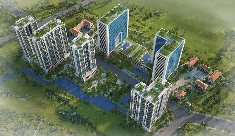 Mặt bằng dự án căn hộ chung cư Babylon Garden đường Đào Trí Quận 7 chủ đầu tư Phú Mỹ Hưng
