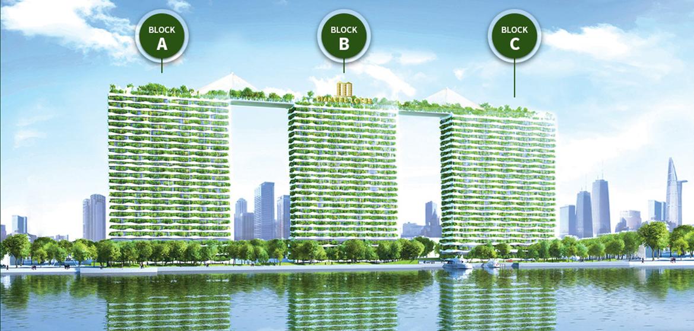Mặt bằng tổng thể dự án căn hộ chung cư Diamond Lotus Riverside Quận 8 Đường Lê Quang Kim