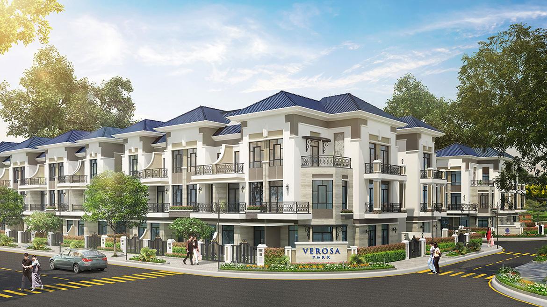 Mẫu thiết kế nhà phố biệt thự dự án Verosa Park Khang Điền Quận 9