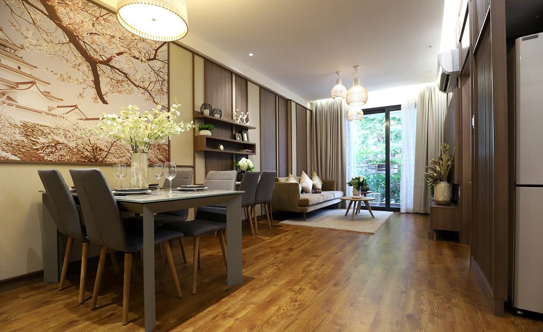 Nhà mẫu dự án căn hộ chung cư Akari City Quận Bình Tân Đường Võ Văn Kiệt