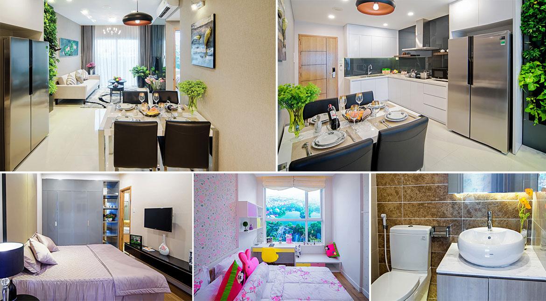 Nhà mẫu dự án căn hộ chung cư Diamond Lotus Lake View Quận Tân Phú Đường Lũy Bán Bích