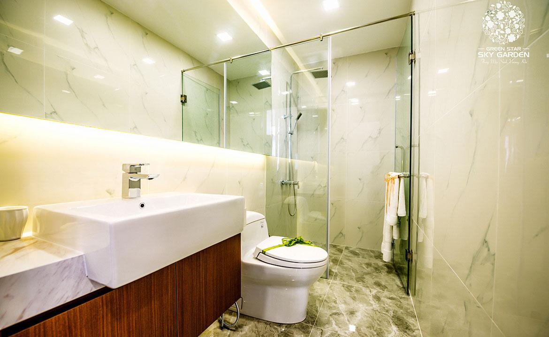 Nhà mẫu dự án căn hộ chung cư Green Star Sky Garden đường Nguyễn Lương Bằng Quận 7