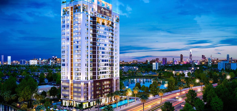 Phối cảnh dự án căn hộ chung cư Ascent Lakeside Quận 7 Đường Nguyễn Văn Linh