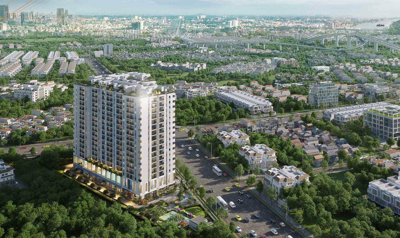 Phối cảnh dự án căn hộ chung cư Ricca đường Gò Cát Phường Phú Hữu Quận 9. thành phố Hồ Chí Minh