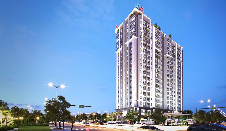 Phối cảnh dự án căn hộ chung cư West Intela đường An Dương Vương Quận 8