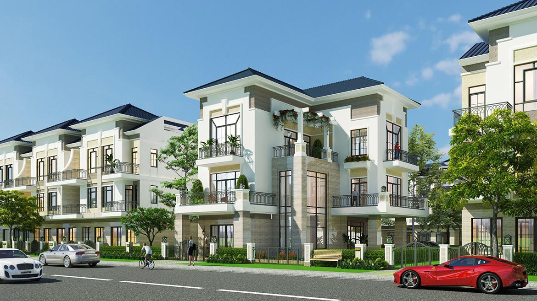 Phối cảnh dự án nhà phố biệt thự Verosa Park Khang Điền Quận 9