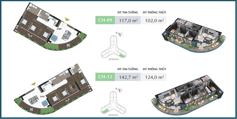 Thiết kế dự án căn hộ chung cư Sunshine Diamond River Quận 7 Đường Đào Trí chủ đầu tư Sunshine Group