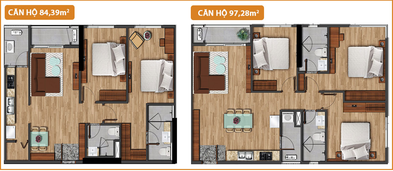 Thiết kế dự án căn hộ chung cư Akari City Quận Bình Tân Đường Võ Văn Kiệt