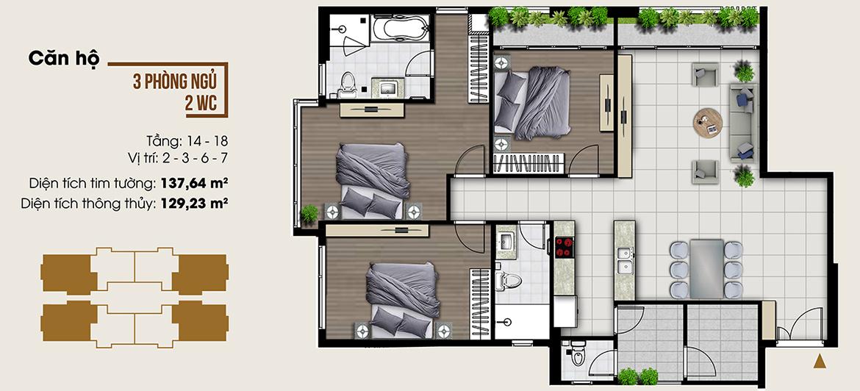 Thiết kế dự án căn hộ chung cư Ascent Lakeside Quận 7 Đường Nguyễn Văn Linh