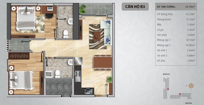 Thiết kế dự án căn hộ chung cư Charmington Iris Quận 4 Đường Tôn Thất Thuyết