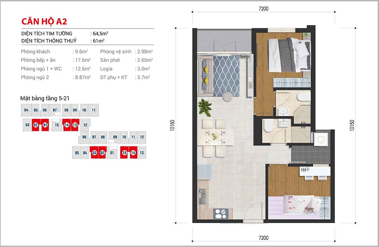 Thiết kế dự án căn hộ chung cư High Intela đường Võ Văn Kiệt Quận 8