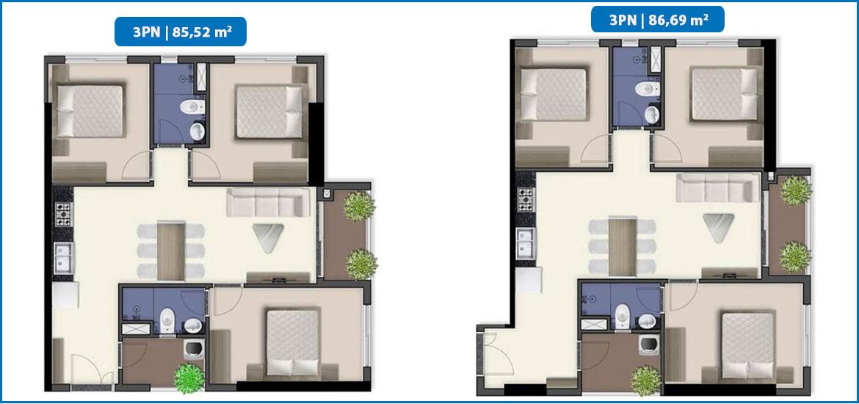 Thiết kế dự án căn hộ chung cư Q7 Saigon Riverside đường Đào Trí quận 7