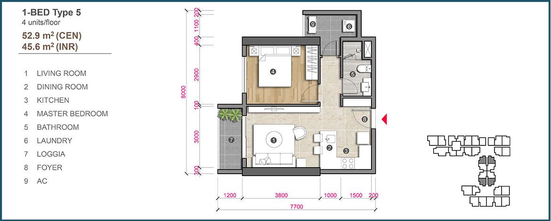 Thiết kế dự án căn hộ chung cư The Emerald Golf View Bình Dương