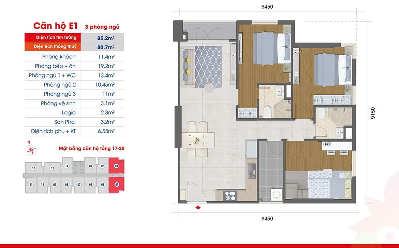 Thiết kế dự án căn hộ chung cư West Intela đường An Dương Vương Quận 8