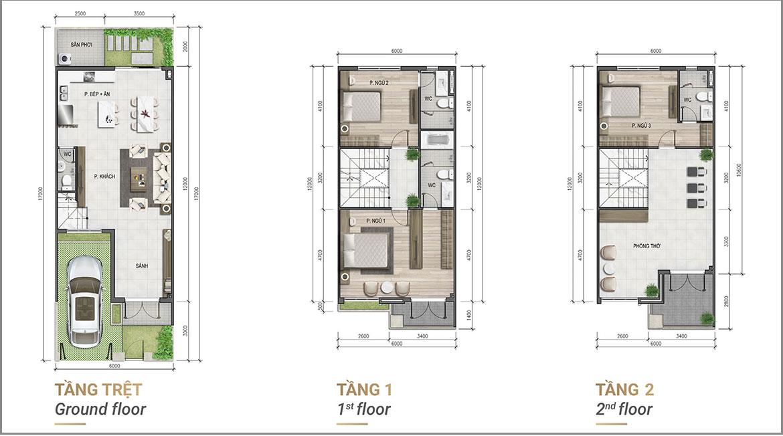 Thiết kế dự án nhà phố biệt thự Verosa Park Khang Điền Quận 9