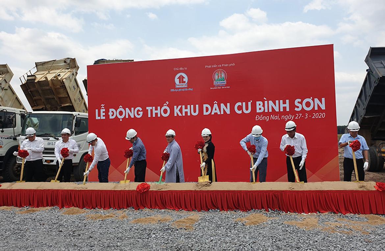 Lễ động thổ dự án dự án Khu Dân Cư Bình Sơn Long Thành Đồng Nai