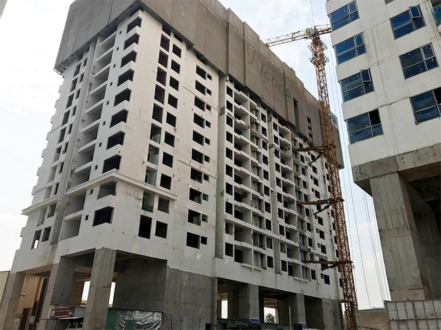 Cập nhật tiến độ xây dựng dự án căn hộ chung cư Sky89 Quận 7 tháng 4.2020