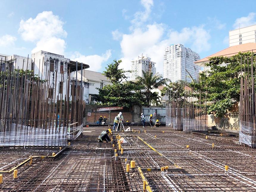 Tiến độ xây dựng dự án căn hộ chung cư The Sóng Vũng Tàu tháng 4.2020