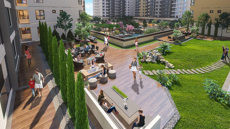 Tiện ích dự án căn hộ chung cư Akari City Quận Bình Tân Đường Võ Văn Kiệt