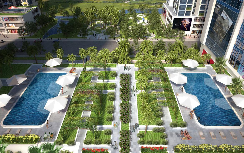 Tiện ích dự án căn hộ chung cư Babylon Garden đường Đào Trí Quận 7 chủ đầu tư Phú Mỹ Hưng