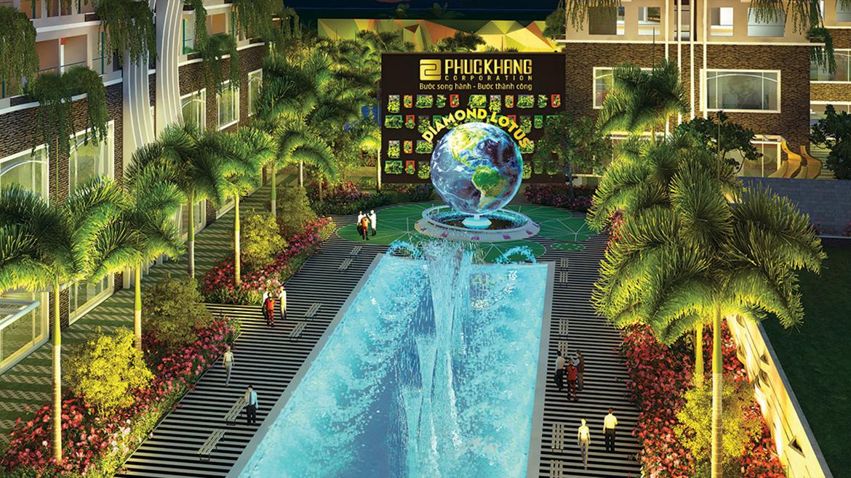 Tiện ích dự án căn hộ chung cư Diamond Lotus Lake View Quận Tân Phú Đường Lũy Bán Bích