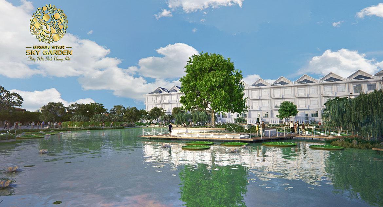 Mặt bằng tiện ích dự án căn hộ chung cư Green Star Sky Garden đường Nguyễn Lương Bằng Quận 7