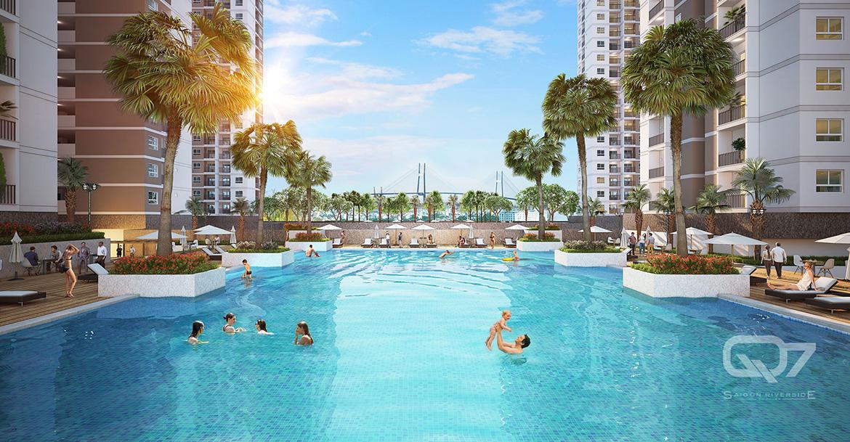 Tiện ích dự án căn hộ chung cư Q7 Saigon Riverside đường Đào Trí quận 7