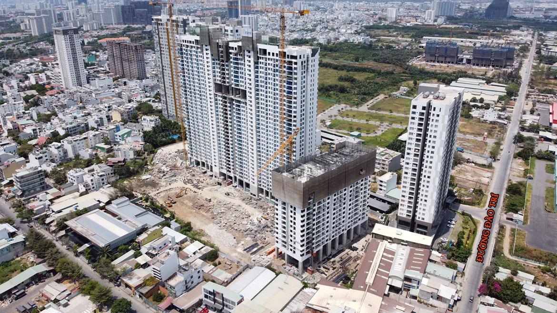 Vị trí địa chỉ dự án căn hộ chung cư Babylon Garden đường Đào Trí Quận 7 chủ đầu tư Phú Mỹ Hưng