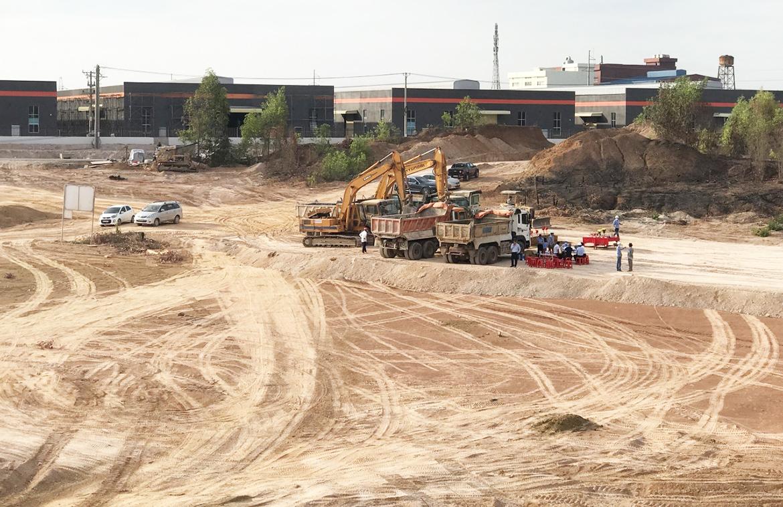 Tiến độ thực tế dự án đất nền dự án PNR Estella Đồng Nai