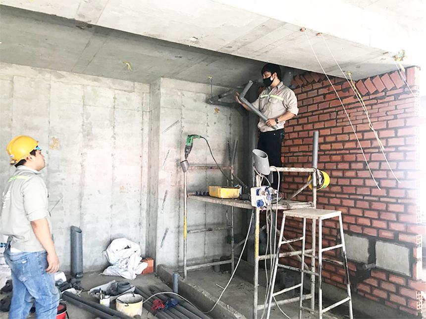 Tiến độ xây dựng dự án căn hộ Sky89 Quận 7 tháng 05.2020