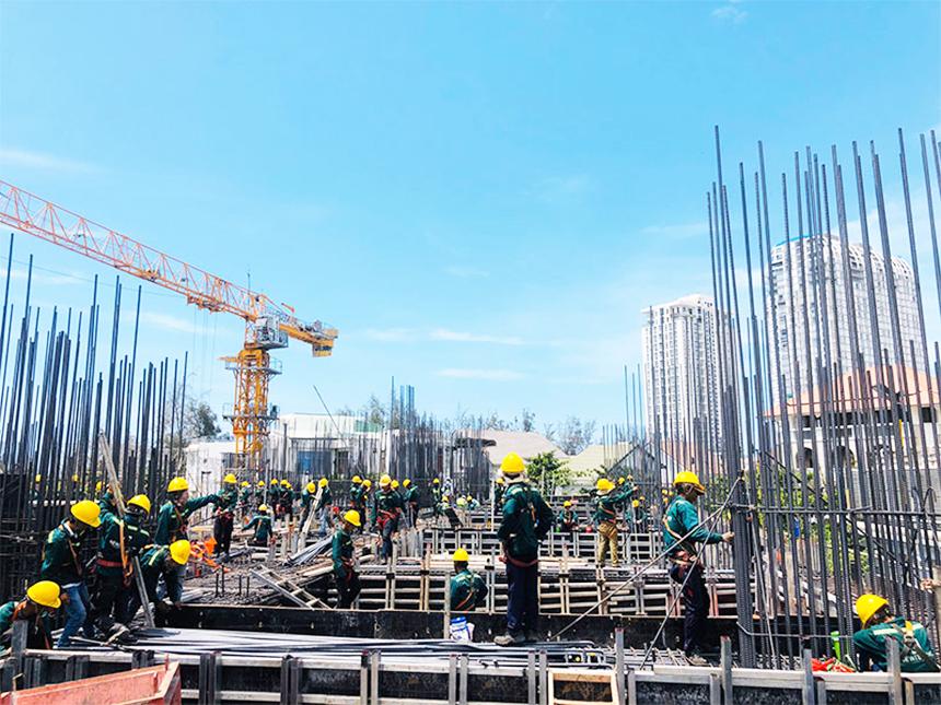 Tiến độ xây dựng dự án căn hộ The Sóng Vũng Tàu tháng 05.2020