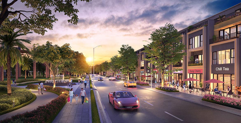 Tiện ích dự án nhà phố đất nền Gem Sky World Long Thành Đồng Nai