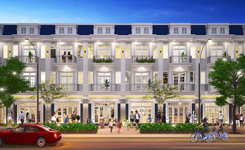 Mẫu thiết kế nhà phố biệt thự dự án Century City Long Thành Đồng Nai