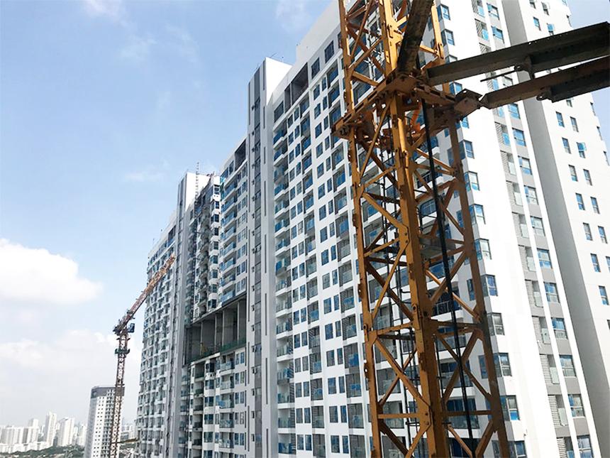Tiến độ xây dựng dự án căn hộ River Panorama Quận 7 tháng 06.2020