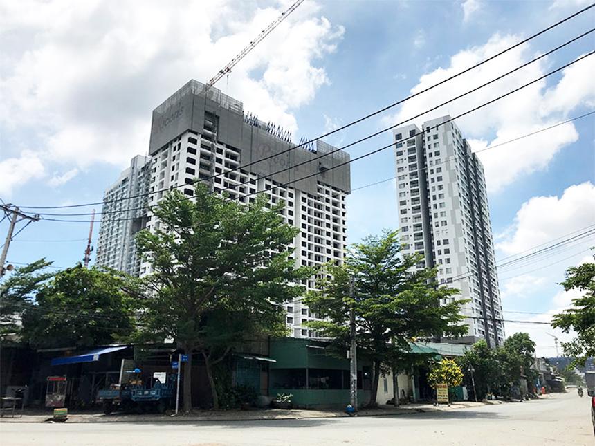 Tiến độ xây dựng dự án căn hộ Sky89 Quận 7 tháng 06.2020