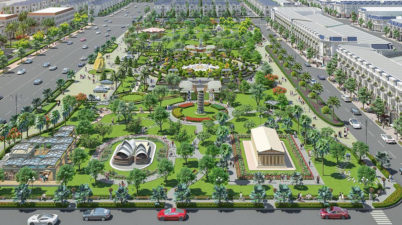 Tiện ích dự án đất nền nhà phố biệt thự Century City Long Thành Đồng Nai