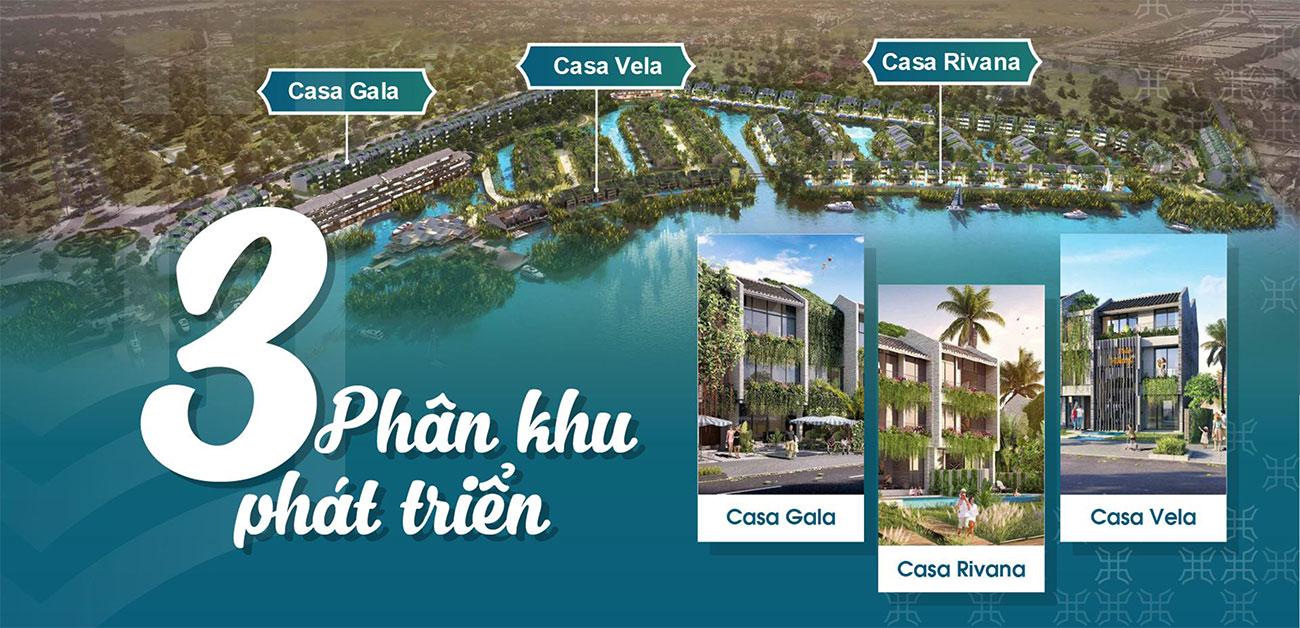 Mặt bằng dự án biệt thự Casamia Hội An
