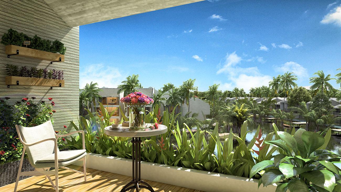 Nhà mẫu dự án biệt thự Casamia Hội An