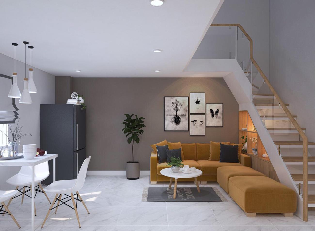 Nhà mẫu dự án căn hộ chung cư 9X Golden Stella Bình Tân
