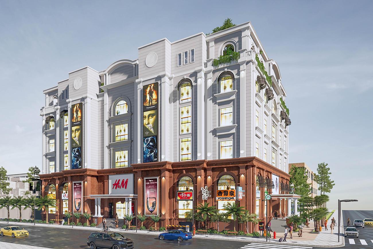 Phối cảnh tổng thể dự án căn hộ chung cư 9X Golden Stella Bình Tân